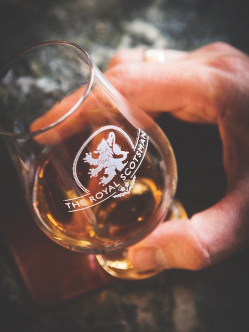 Belmond Royal Scotsman scotch whisky