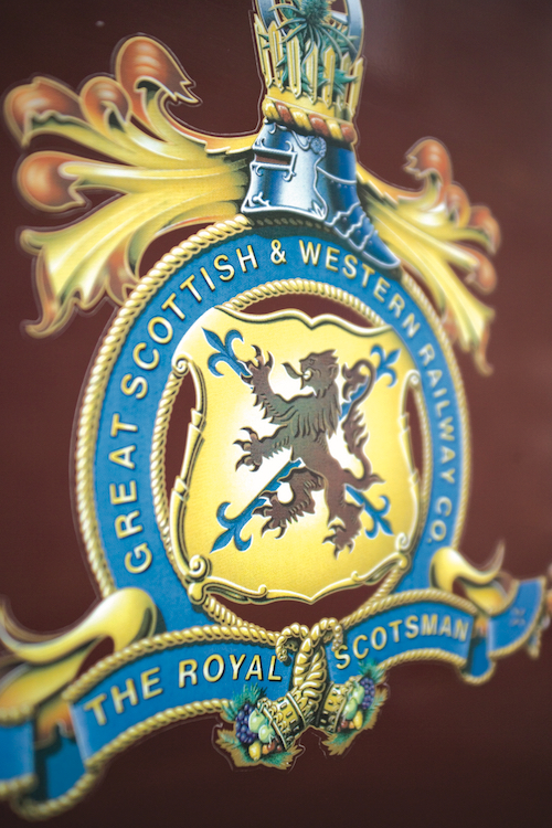 Belmond Royal Scotsman train livery