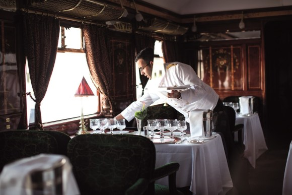 Belmond Venice Simplon Orient-Express train dining food restaurant