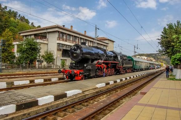 black sea express steam train