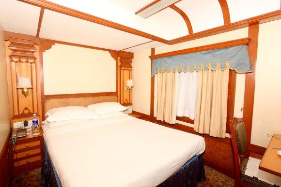 Deccan Odyssey India train double room cabin