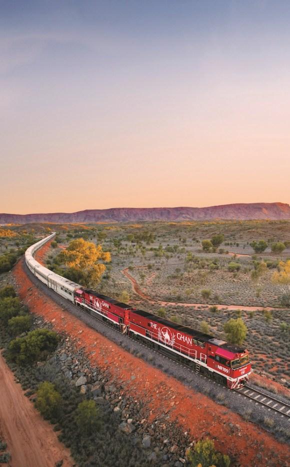 The Ghan train Australia Alice springs