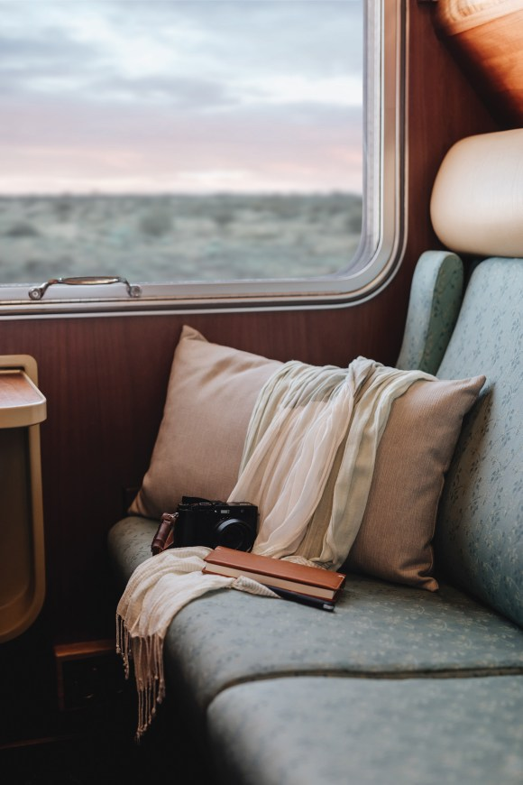 The Ghan train Australia gold service cabin