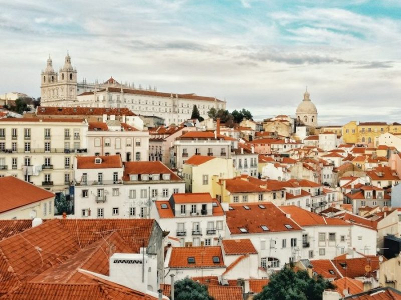 Lisbon to Madrid train