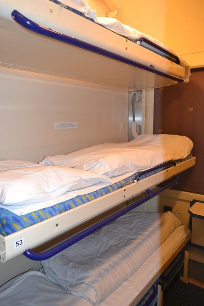 prague to krakow train bed bunk
