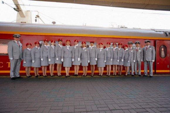 red arrow train russia