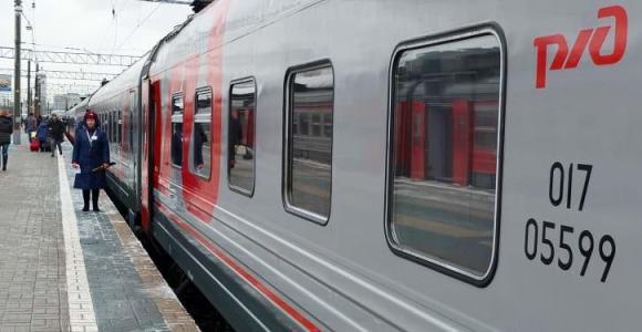 Trans-Siberian train Rossiya