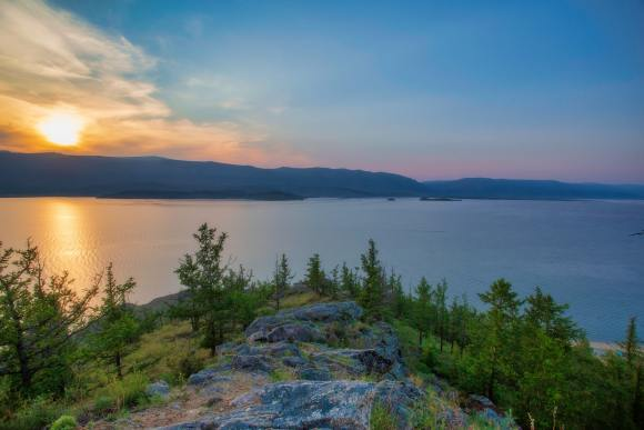Russia Trans-Siberian scenery