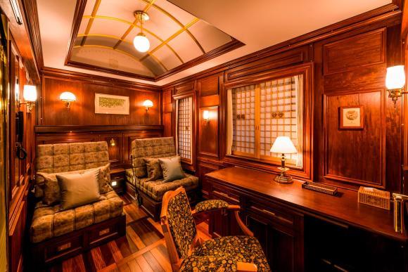 Seven Stars in Kyushu train Japan cabin suite