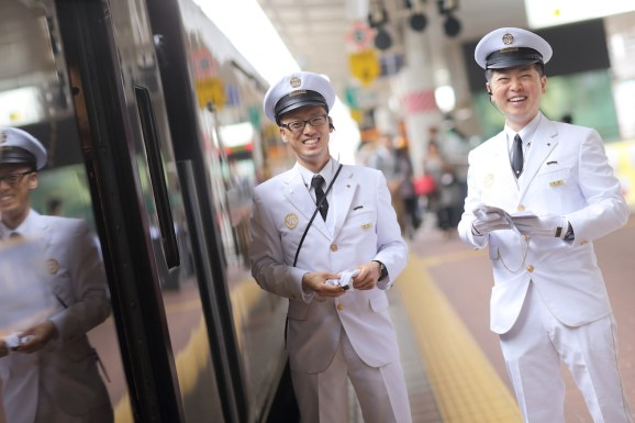 Japan guards platform