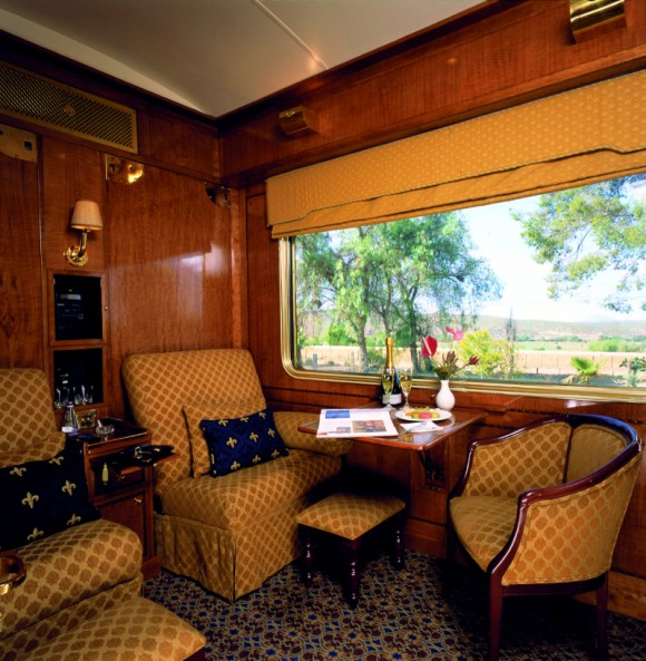 The Blue Train South Africa twin room
