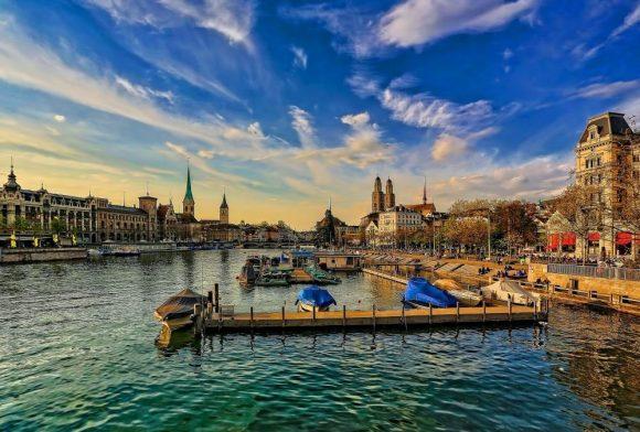 Zurich Switzerland lake