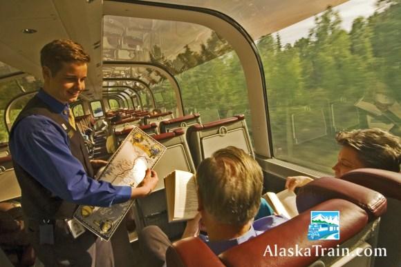 alaska train carriage