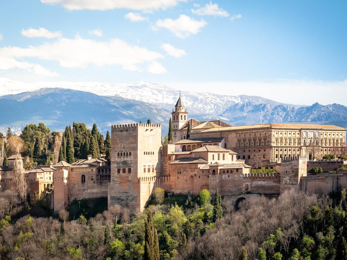 alhambra palace grenada spain