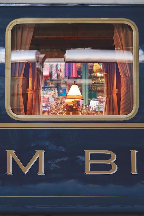 Belmond Hiram Bingham train window