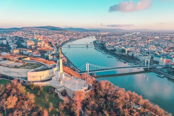 Budapest danube hungary