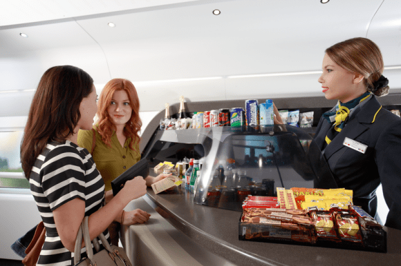 Eurostar food and drink service