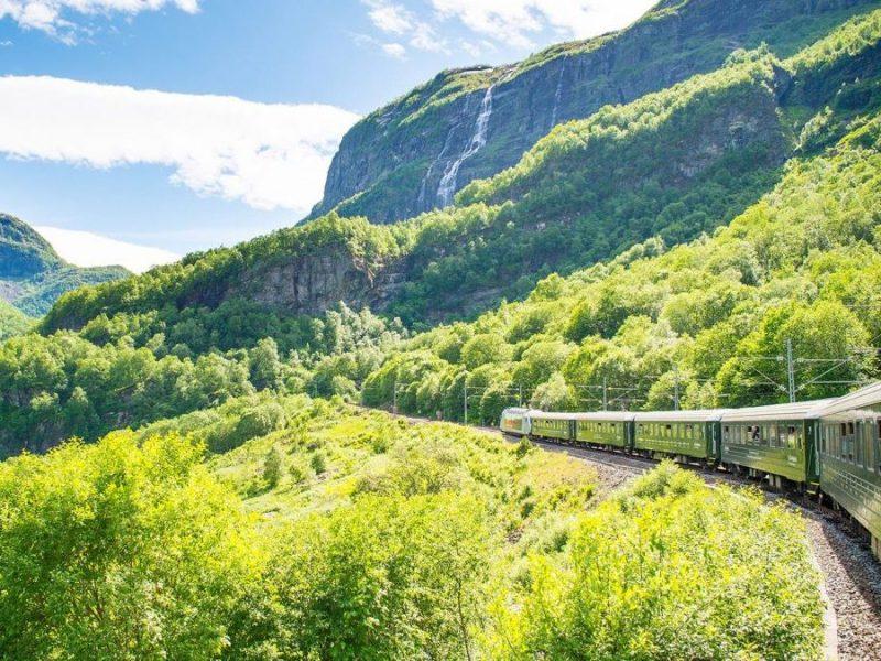 flam railway. norway