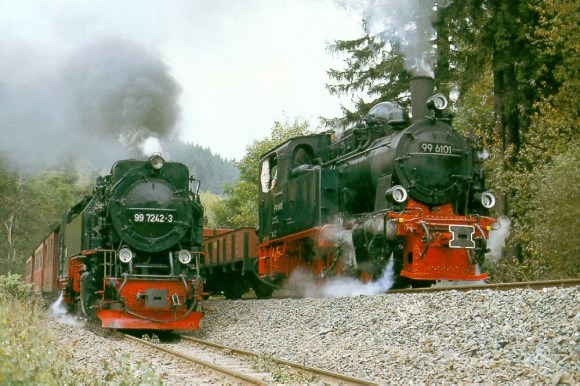 Harz railway trains