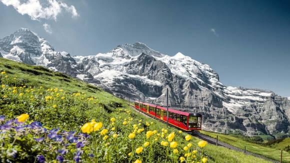 Jungfrau Railway switzerland summer