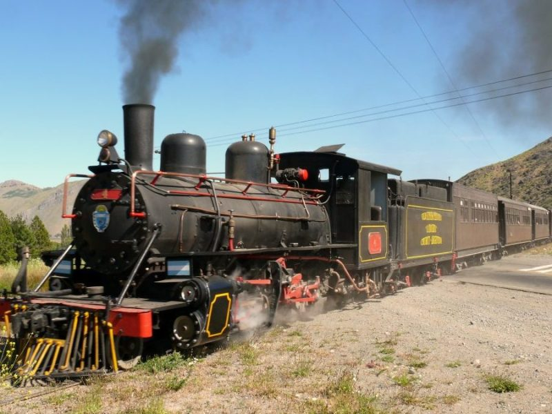 La Trochita steam Train patagonia