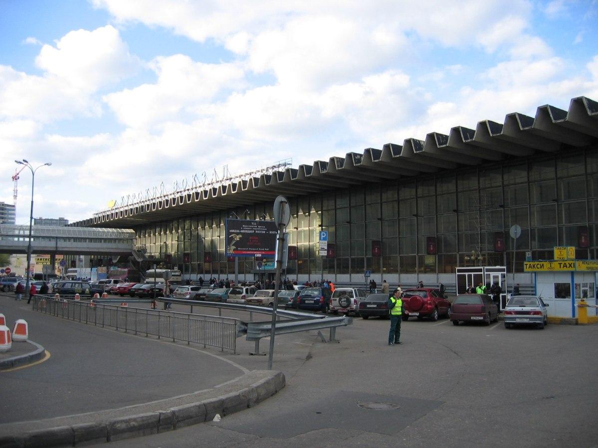 Moscow Kursky railway station