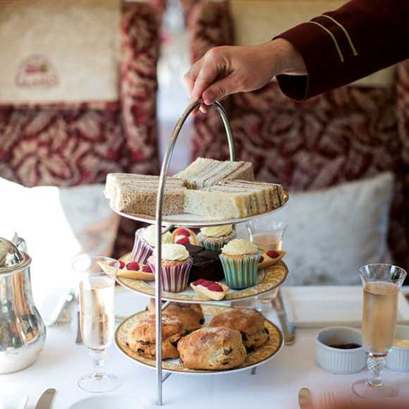 northern belle train afternoon tea