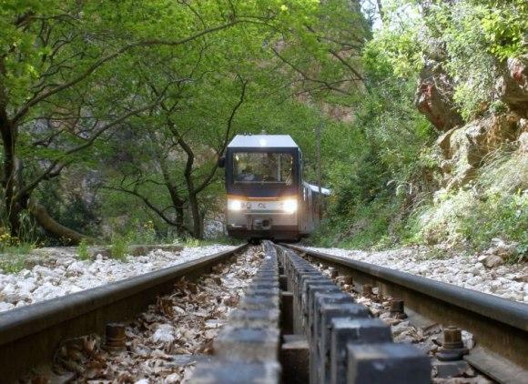 Odontotos Rack Railway – Greece