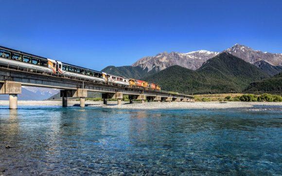 TranzAlpine railway train new Zealand