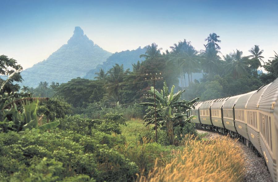 railway traveller