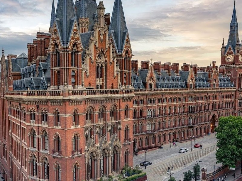 st pancras station London