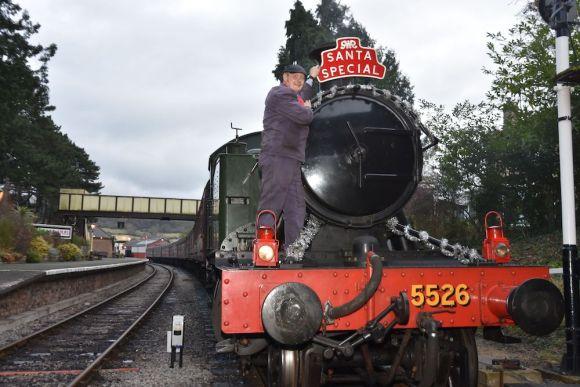 christmas train GWSR