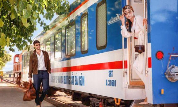 Indian train journeys vintage train