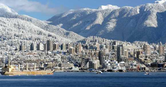 winter train journeys canada