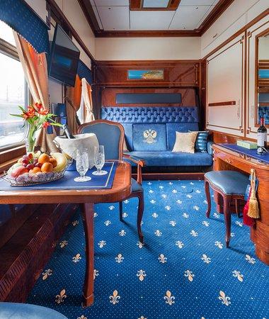 luxury train suites
