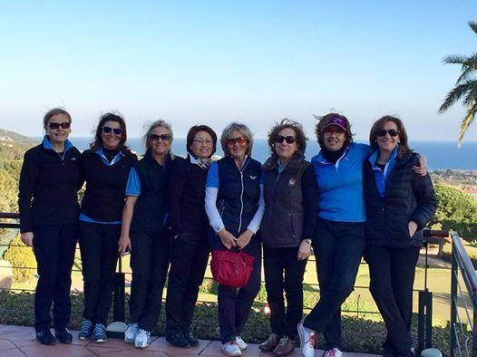 Equip_Femeni_Interclubs_2015_Raimat_Golf_Club