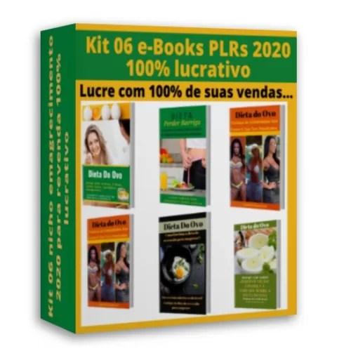 6 e-books plrs no nicho de emagrecimento 2020