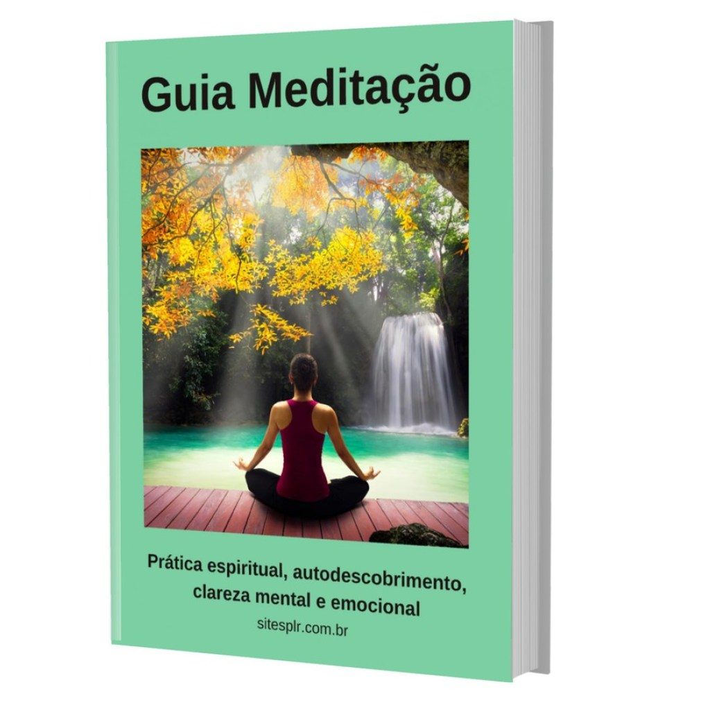 Guia Meditação - Capa 3D
