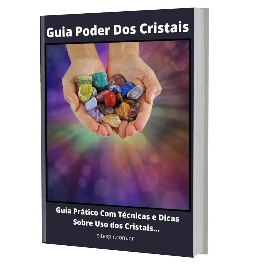 Guia O Poder Dos Cristais - Capa 3D