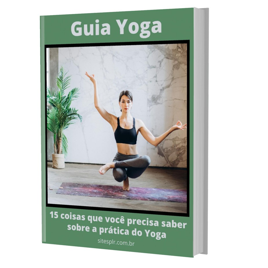 Guia Yoga Business - Capa Verde 3D