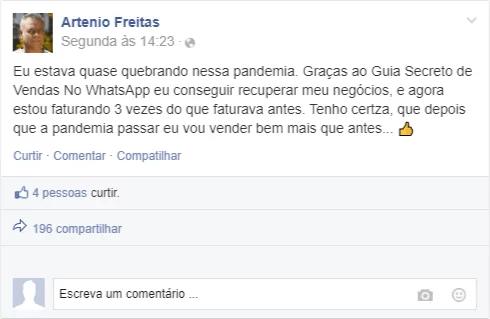 Artemio freitas guia secreto whatsapp
