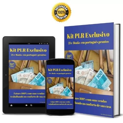 Comprar ebook plr - 21 ebooks plr em portugues
