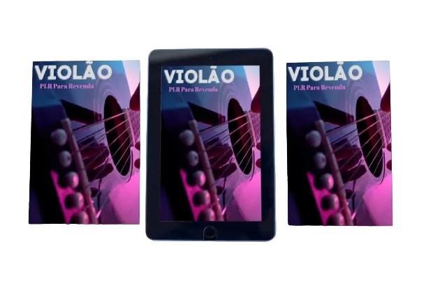 e-Book PLR nicho violão em português