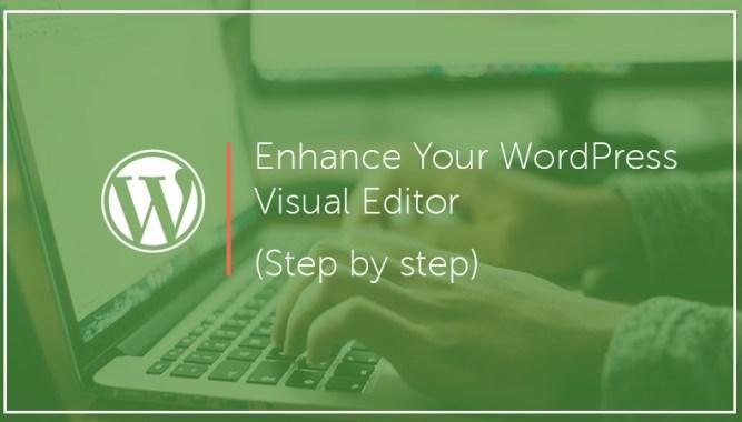 Enhance Your WordPress Visual Editor