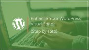 How to Enhance Your WordPress Visual Editor (Step by Step)