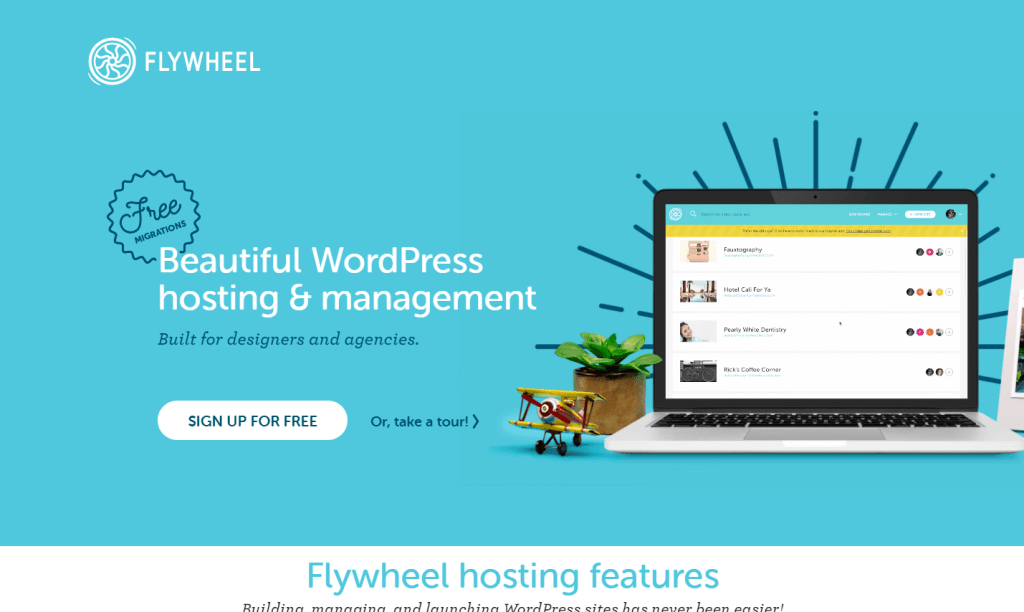 Managed WordPress Hosting for Designer