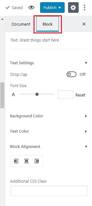How to Add GUTENBERG Visual Editor to WordPress - Block customization