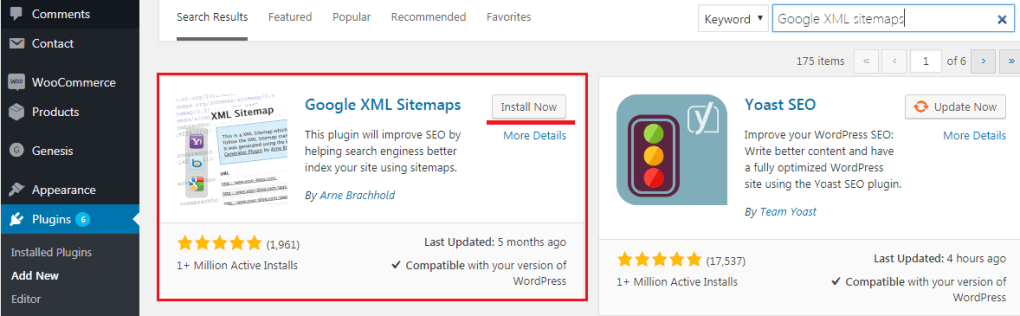 how to create sitemaps for wordpress website step by step