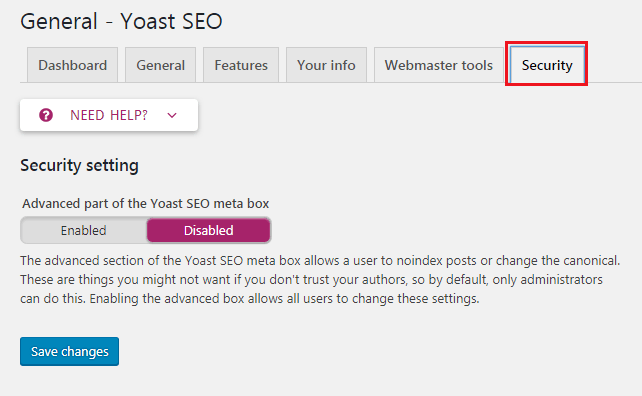How to do WordPress SEO technically (OnPage Guide) Security