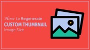 How to Regenerate Custom Thumbnail Image Size